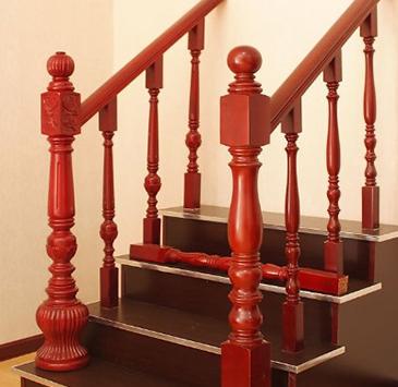 实木楼梯面漆的工艺不可忽视!