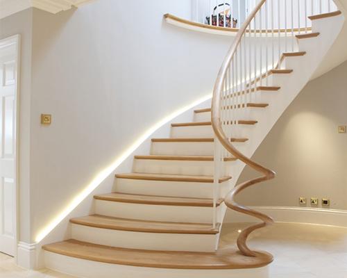 中式木楼梯